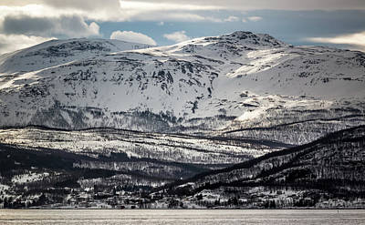 Photograph - Peaks Near Espenes Norway by Adam Rainoff
