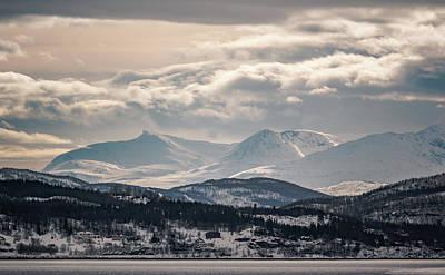 Photograph - Peaks Near Rubbestad Norway by Adam Rainoff