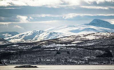 Photograph - Peaks Near Stonglandet Norway by Adam Rainoff
