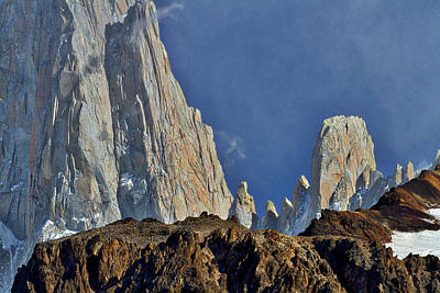 Photograph - Peaks Next To Fitz Roy #3 - Patagonia by Stuart Litoff