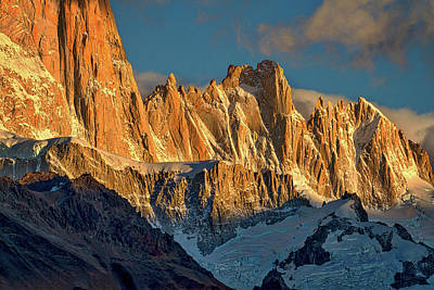 Photograph - Peaks Next To Fitz Roy - Patagonia by Stuart Litoff