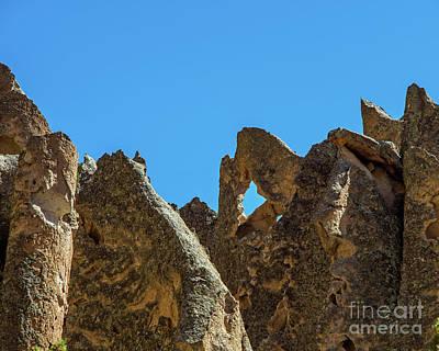 Photograph - Peaks Of Bandelier by Steve Whalen