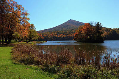 Photograph - Peaks Of Otter Mountain by Jill Lang