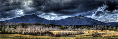 Peaks Of Otter Storm Clouds Art Print by Steve Hurt