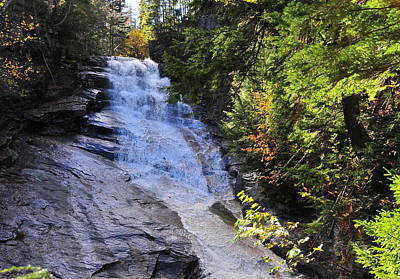 Photograph - Peal Cascade - Crawford Notch State Park by Brian Hoover