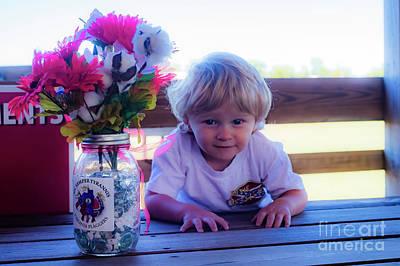 Photograph - Peanut At 6th Anniversary Va Flaggers 4933 by Doug Berry