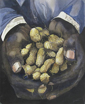 Painting - Peanut Farmer by Jean Sumption