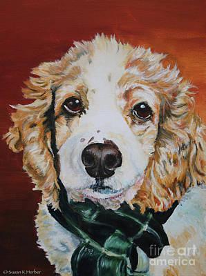 Painting - Peanut by Susan Herber