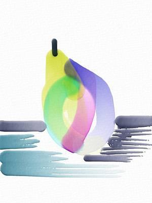 Pear Abstract Original