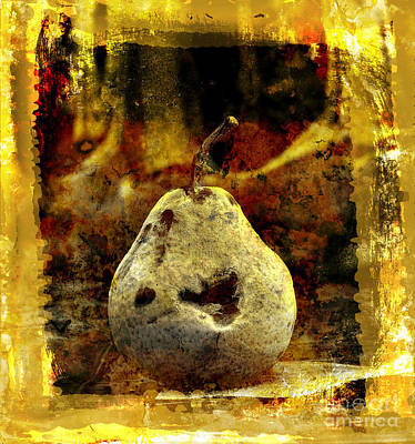 Pear Art Print by Bernard Jaubert