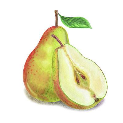 Painting - Pear Bunch by Irina Sztukowski