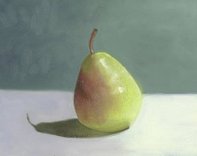 Pear Fruit Still Life  Art Print