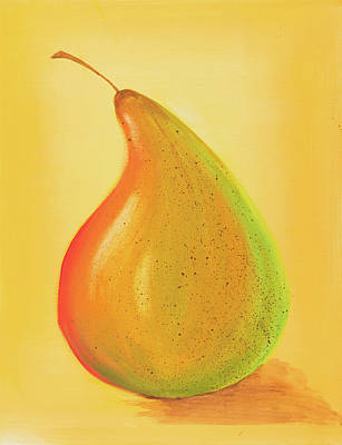 Painting - Pear by Iryna Goodall