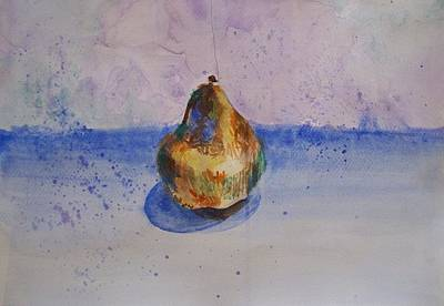 Painting - Pear by Liz Adkinson