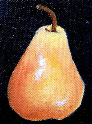 Painting - Pear Miniature by Susan Dehlinger