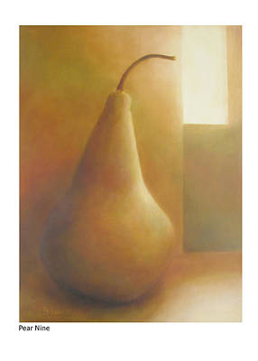 Painting - Pear Nine by Betsy Derrick