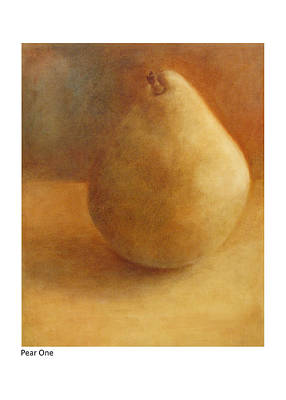 Painting - Pear One by Betsy Derrick
