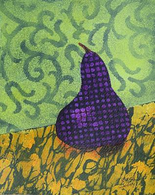Painting - Pear Patterns by Nancy Jolley