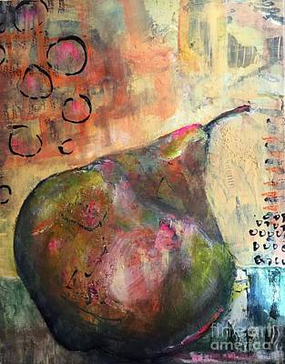 Painting - Pear Shape by Gail Butters Cohen