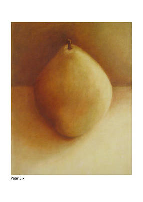 Painting - Pear Six by Betsy Derrick