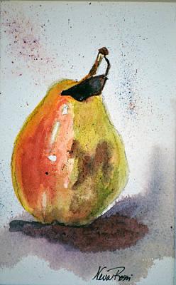 Pear Study Art Print by Neva Rossi