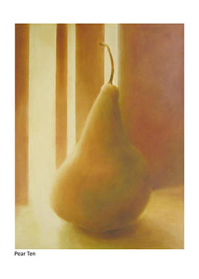Painting - Pear Ten by Betsy Derrick