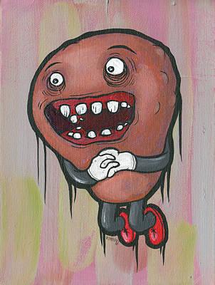 Painting - Pear Troll by Tim Boyd