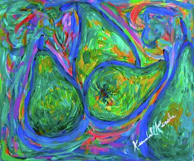Painting - Pear Twist by Kendall Kessler