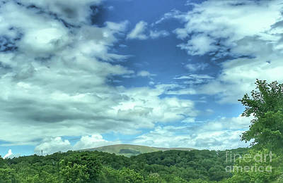 Photograph - Pearisburg Virginia View by Kerri Farley