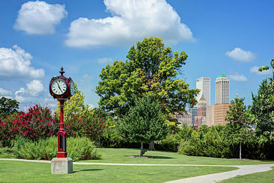Photograph - Pearl District Skyline - Tulsa Oklahoma by Gregory Ballos