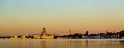 Photograph - Pearl Harbor Dawn by Jon Burch Photography