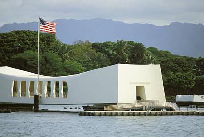 Northern America Art Photograph - Pearl Harbor Memorial by Mary Van de Ven - Printscapes