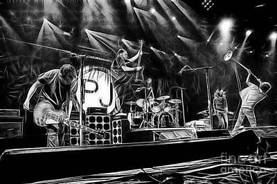 Pearl Jam Collection Art Print by Marvin Blaine