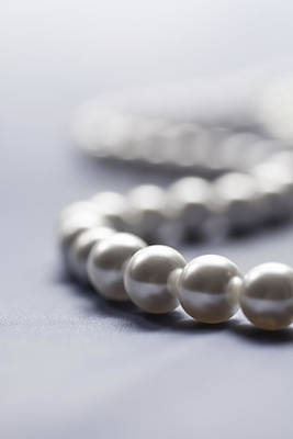 Photograph - Pearl Necklace by Jaroslaw Blaminsky