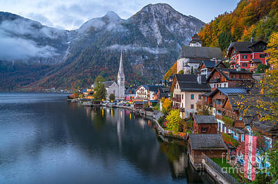 Pearl Of Austria Print by JR Photography