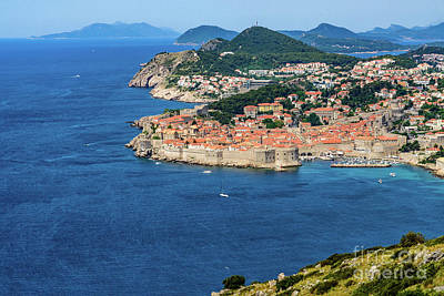 Photograph - Pearl Of The Adriatic, Dubrovnik, Known As Kings Landing In Game Of Thrones, Dubrovnik, Croatia by Global Light Photography - Nicole Leffer
