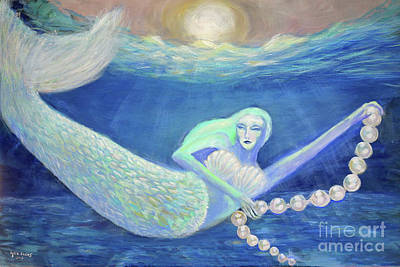 Painting - Pearl Of The Sea by Lyric Lucas