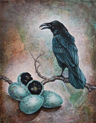 Mixed Media - Pearl Of Wisdom by Sheri Howe