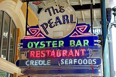 Pearl Oyster Bar Art Print