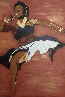 Painting - Pearl Primus by Rachel Natalie Rawlins