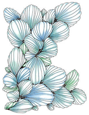 Pearlescent Plume Art Print