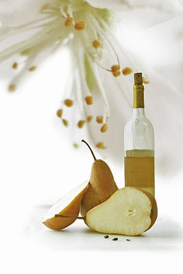 Pears Blossom Art Print