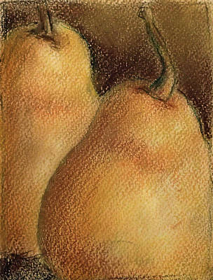 Pastel - Pears by Ed Meredith