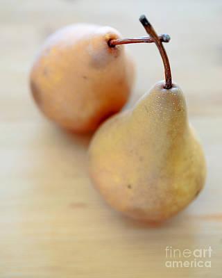 Pears Print by Edward Fielding