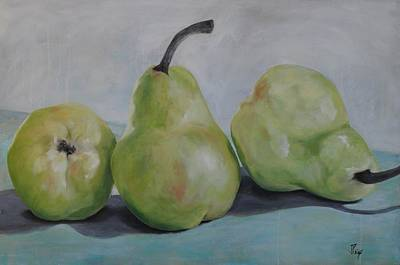 Painting - Pears by Julie Clanton