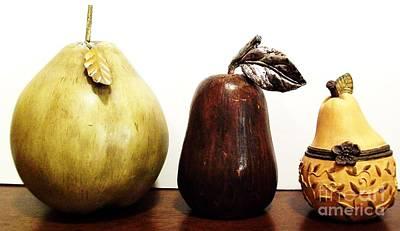 Pears Art Print by Marsha Heiken