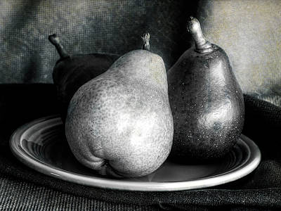 Photograph - Pears  by Sandra Selle Rodriguez