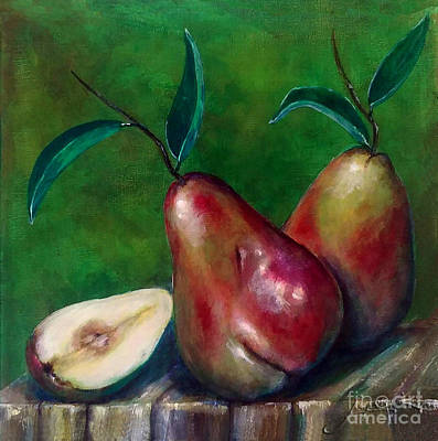 Painting - Pears Still Life by Thomas Lupari