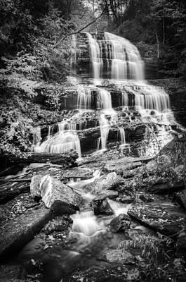 Photograph - Pearsons Falls-bw by Joye Ardyn Durham