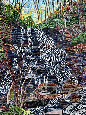 Pearson's Falls Art Print by Micah Mullen